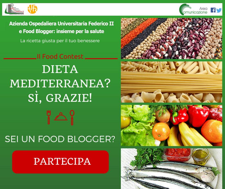 "Contest ""Dieta Mediterranea? Si, grazie!"""