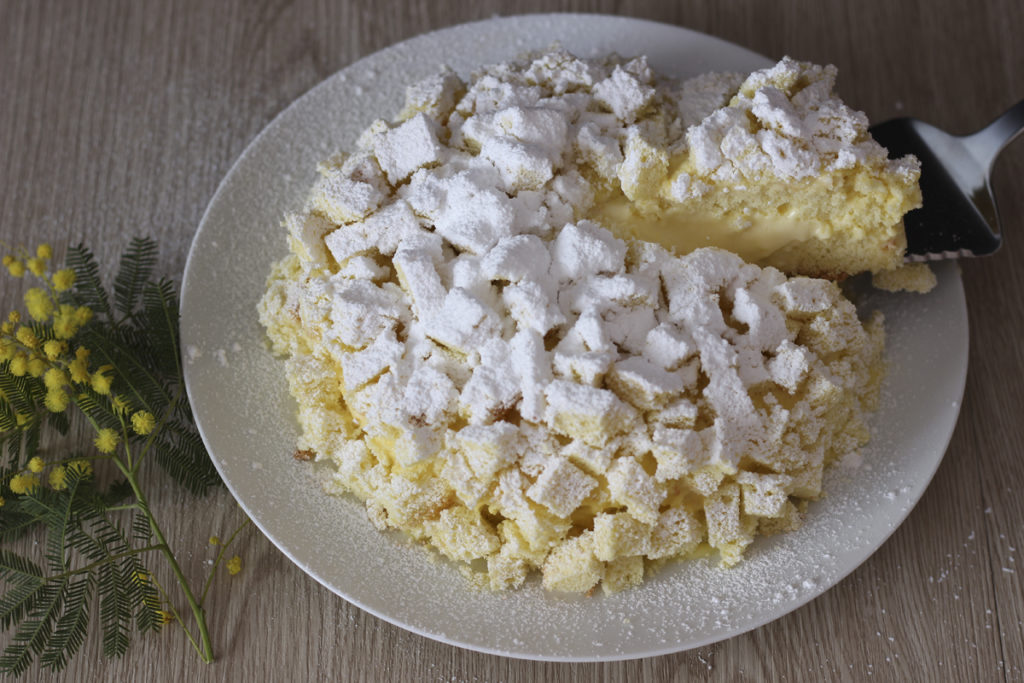 ricetta torta mimosa senza glutine