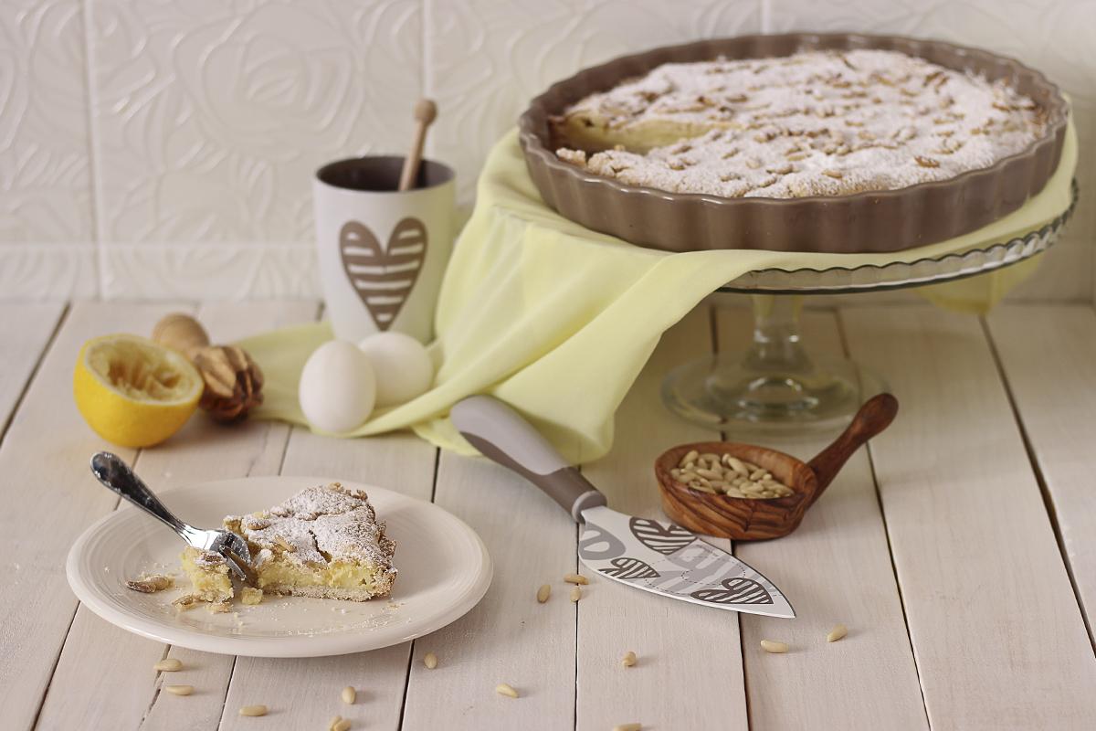 Torta della nonna senza glutine monicas kitchen la for Piani di casa della nonna