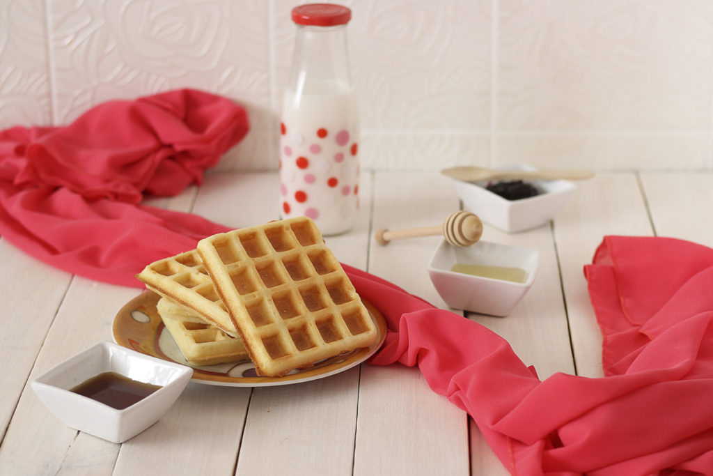 waffle senza glutine ricetta