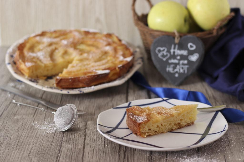 torta di mele rovesciata gluten free