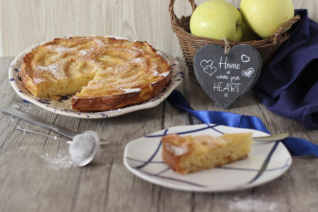 ricetta torta di mele rovesciata
