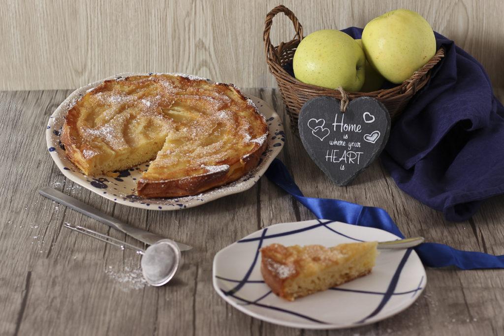 torta di mele rovesciata senza glutine