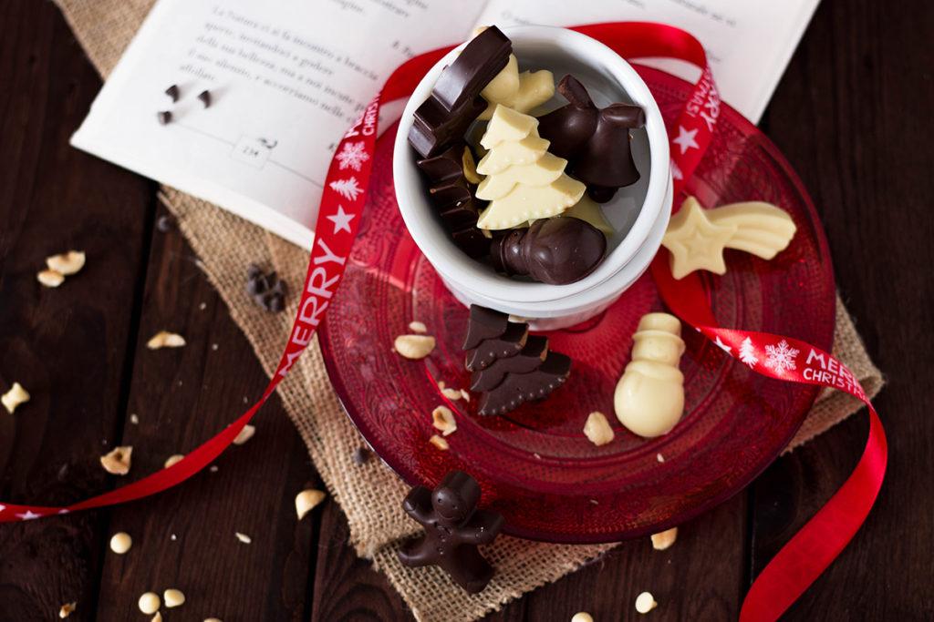 Cioccolatini alle nocciole senza glutine