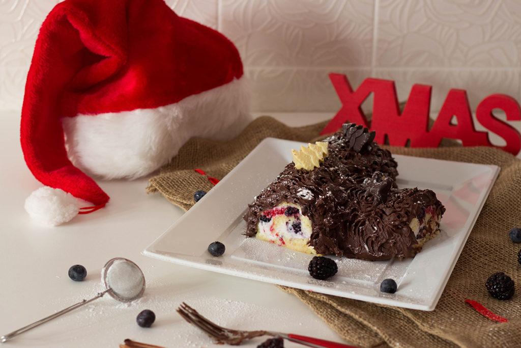 Ricetta Tronchetto Di Natale Senza Glutine.Tronchetto Di Natale Senza Glutine Monica S Kitchen