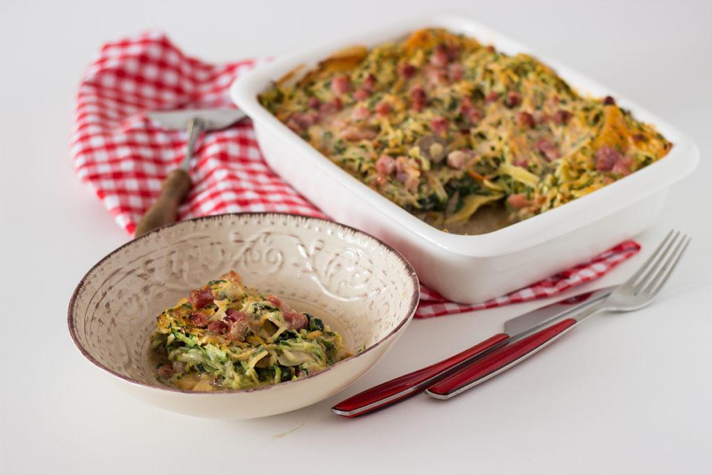 lasagne senza glutine con verdure
