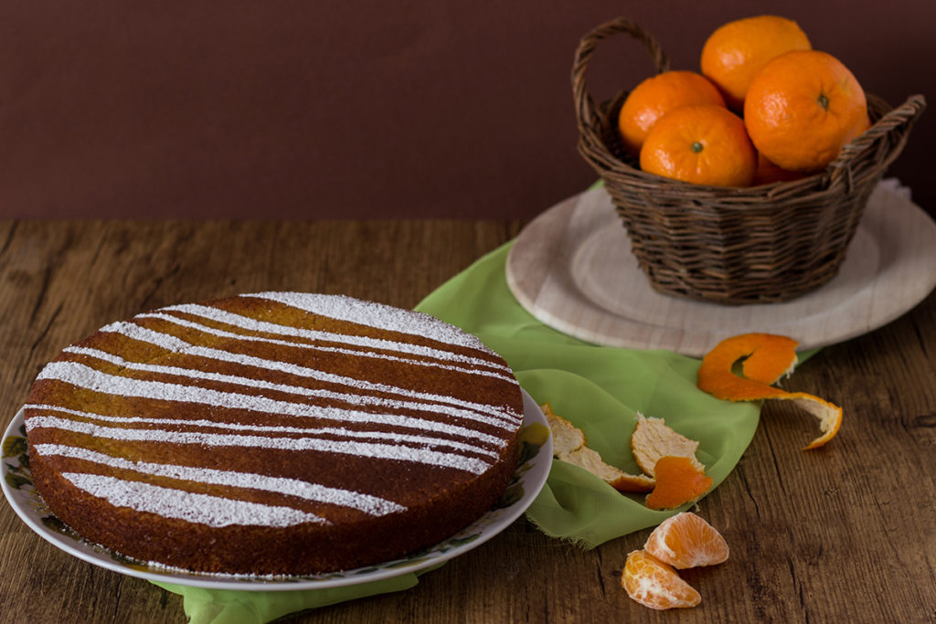 torta senza glutine mandarino