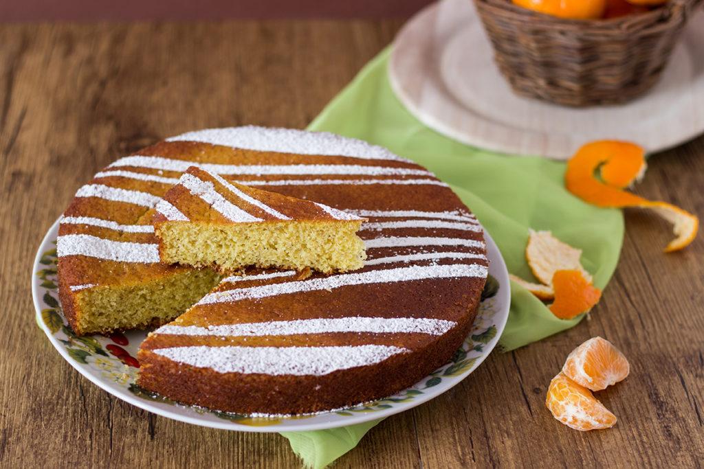 gluten free torta mandarino