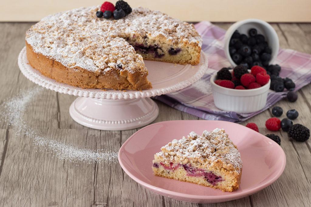 streusel cake senza glutine