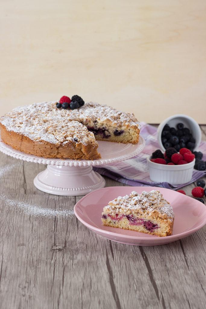 streusel cake gluten free